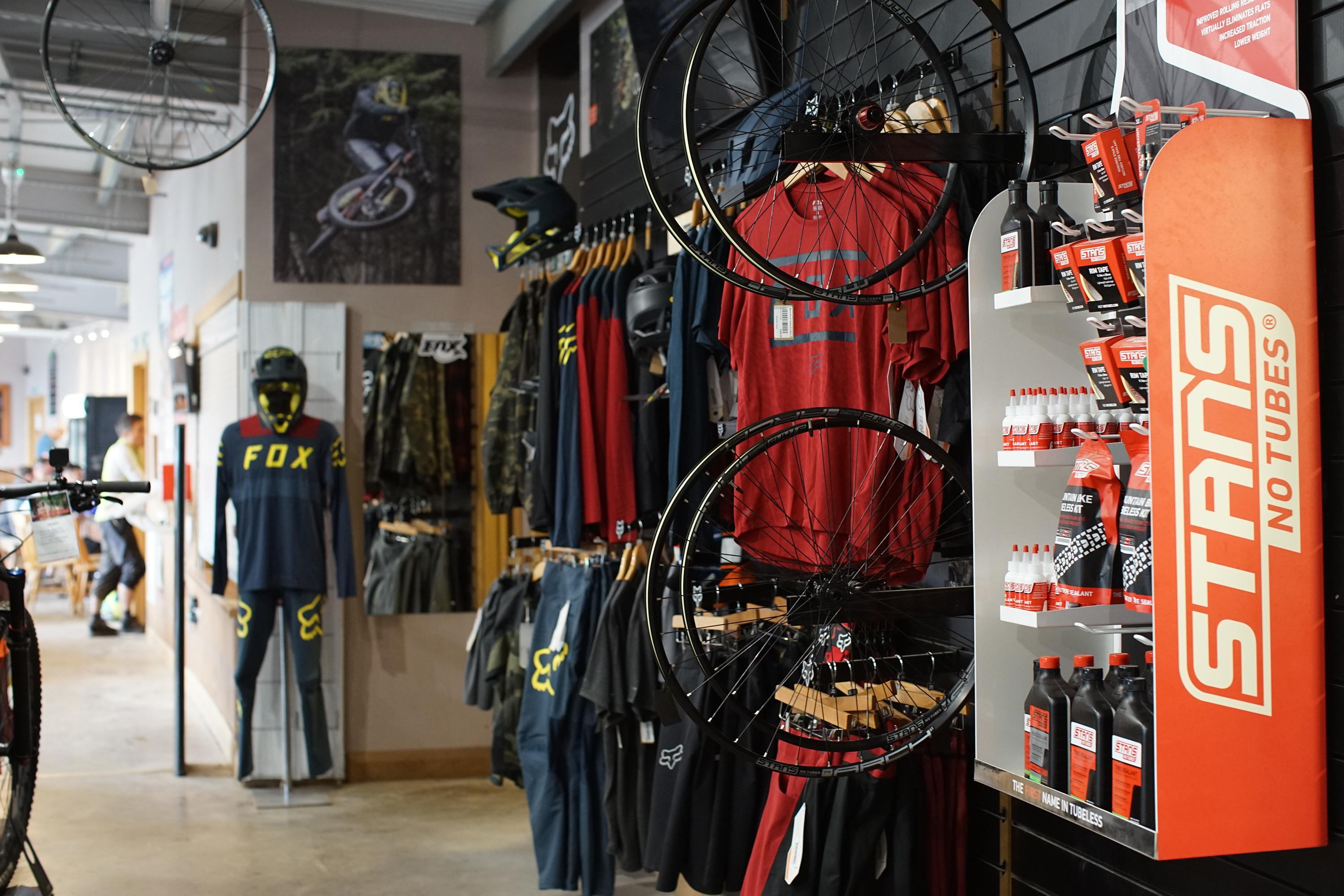 Bikepark Wales On Site Shop Wiring Your We Are Here To Offer Friendly And Knowledgeable Advice Whether You Purchasing An Inner Tube Or Looking Custom Build Dream Bike